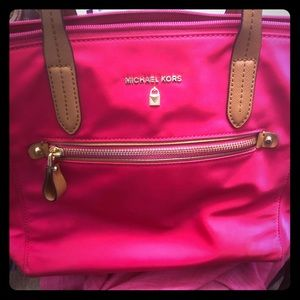 Lovely gently used Michael Kors tote bag